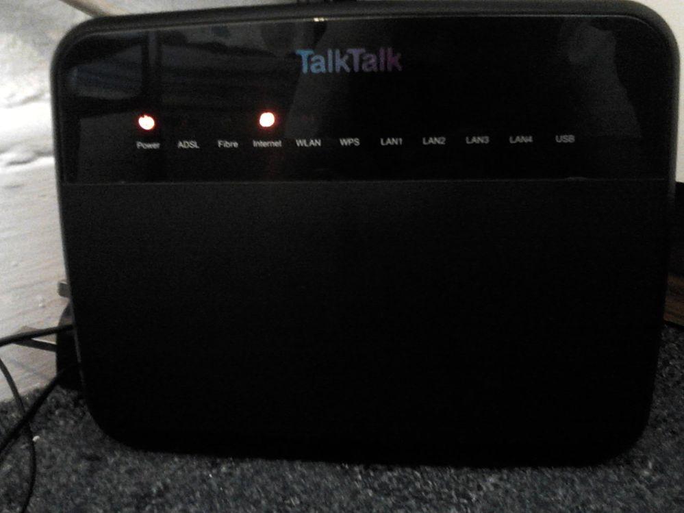 Router Problem Talktalk Community