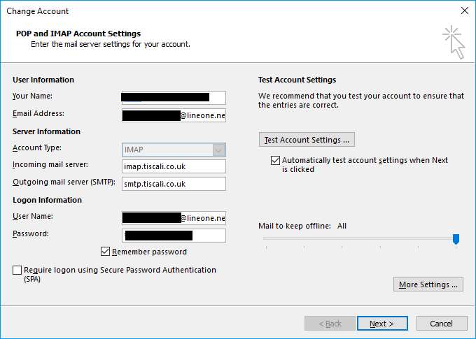 Outmail login
