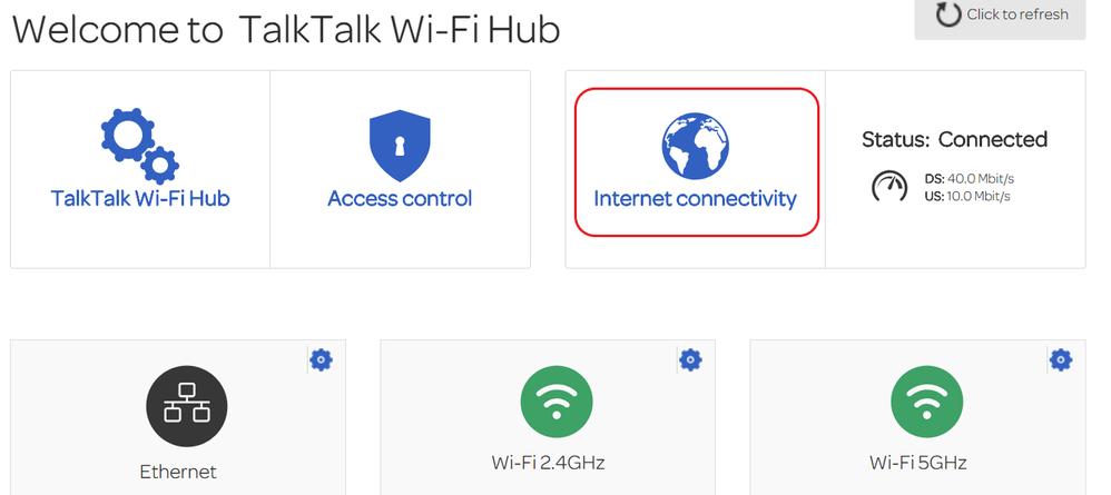 TalkTalk WiFi Hub - Internet connectivity.png