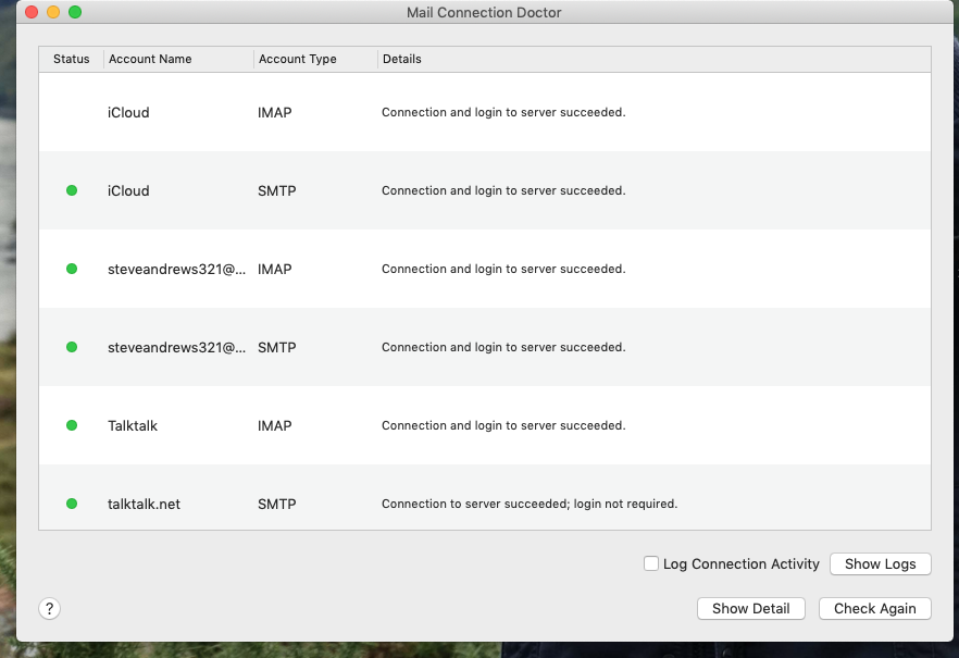 My Talktalk Webmail >> Unable to send email - TalkTalk Help & Support