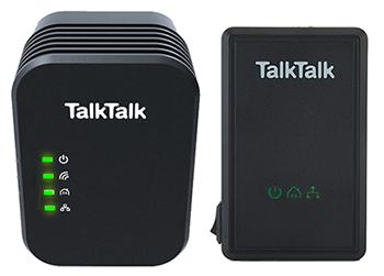 TalkTalk wireless powerline adapters