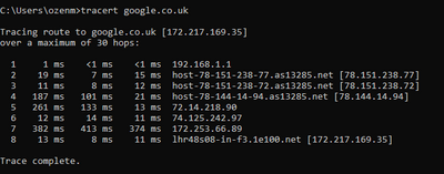 2nd Traceroute (Bad).png