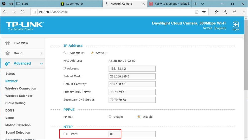 TPLInk cam HTTP port.png