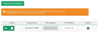Reserved IPs