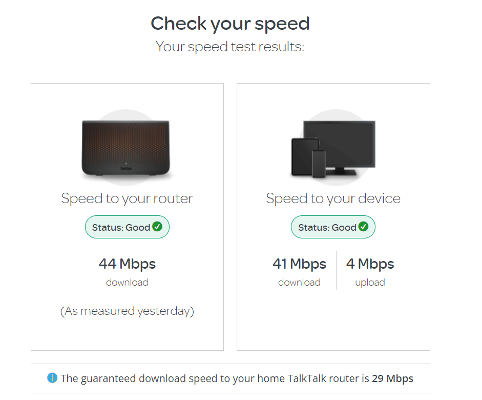 TT Speed Check to my Laptop
