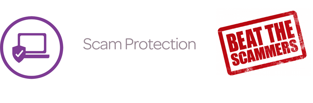 Scam protection  notification