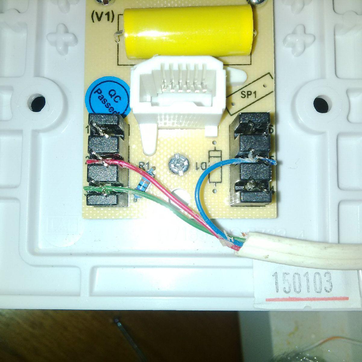 How To Wire A Virgin Media Master Phone Socket Wiring Telephone Talktalk Communityrh
