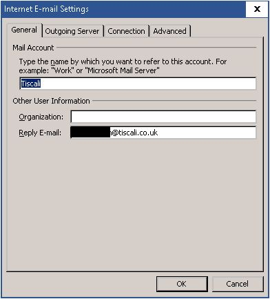 My Talktalk Webmail >> Solved: The emails from my tiscali account are not getting... - TalkTalk Community