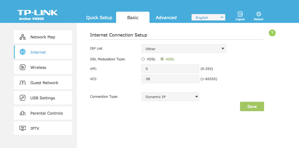 TP-Link Archer VR900 continuously drops connection