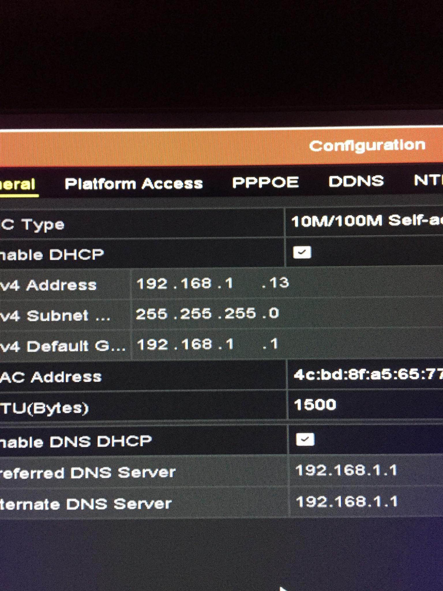 Port forwarding on huawei hg633 router for cctv - TalkTalk