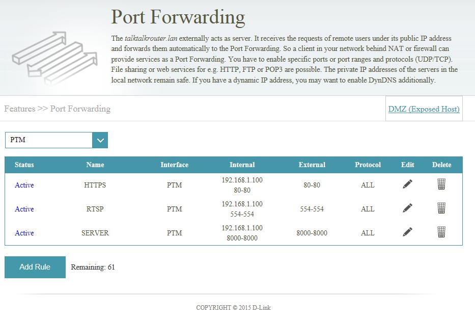 Online Port Checker / Port Forwarding Testing tool.