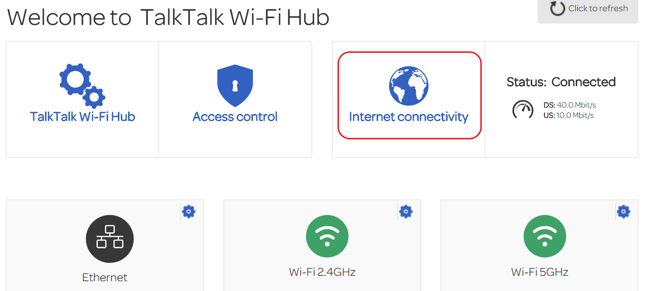 New Wi-Fi Hub  Issue with ethernet connection  - TalkTalk