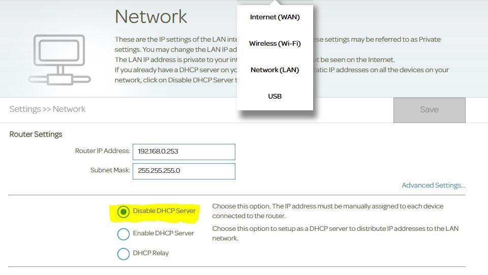 DLINK DSL-3782 bridge/modem mode - TalkTalk Help & Support