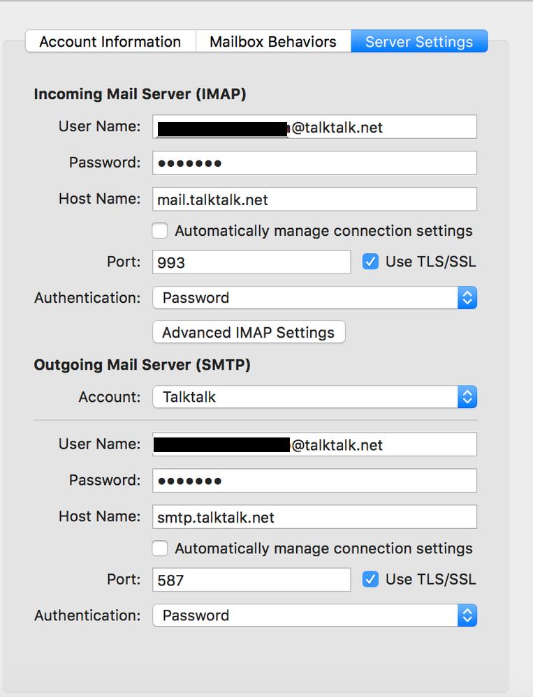 Emails Not Working Invalid Certificate Talktalk Community