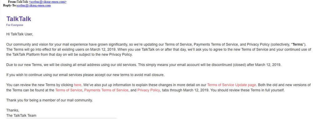 Updating our Terms of service
