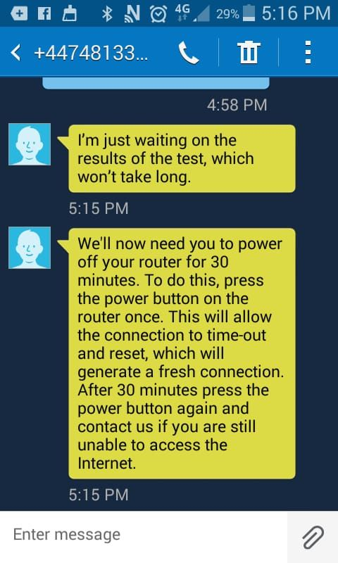 got to be the worst customer service  router has s    - TalkTalk