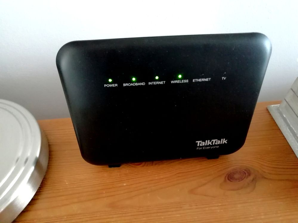 Solid red Internet light on router  - Page 3 - TalkTalk Help & Support