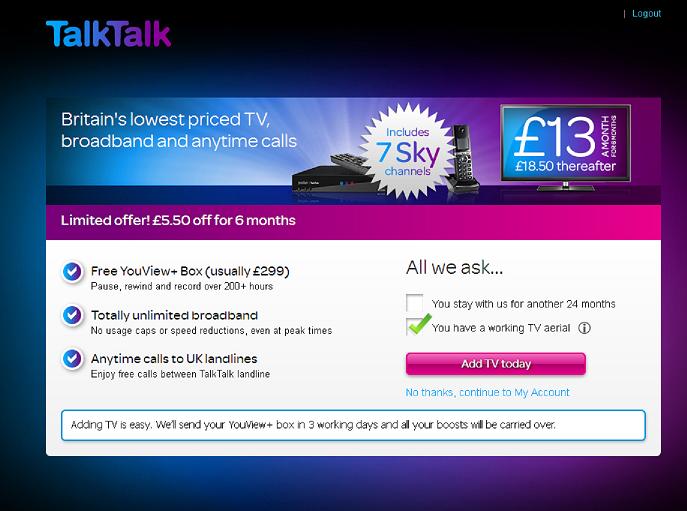 I don't want TalkTalk TV. - TalkTalk Community   687 x 511 png 361kB