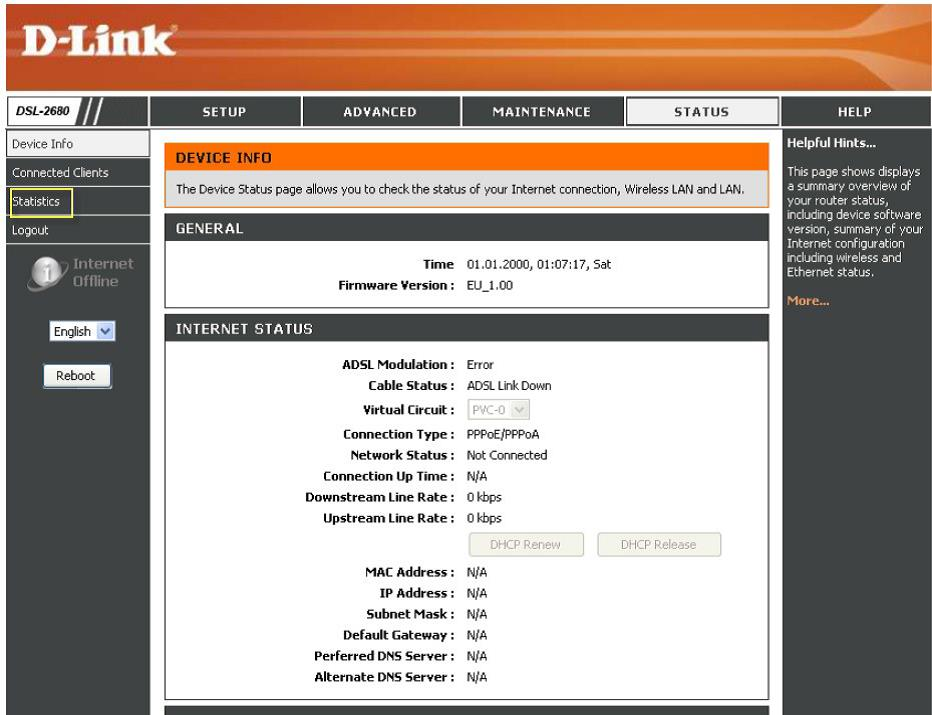 how to put a password on my dlink router